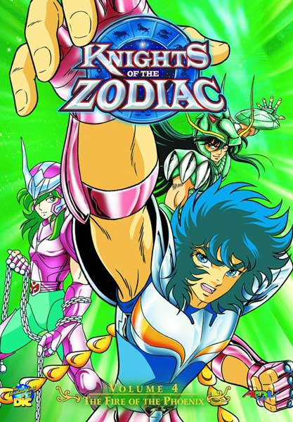Image: Knights of the Zodiac Vol. 4 DVD  -