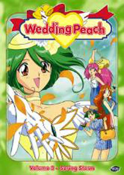 Image: Wedding Peach Vol. 3: Spring Storm DVD  -