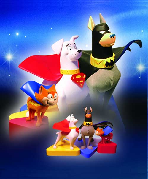 Image: Krypto and Friends Animated Series Maquette Set  -