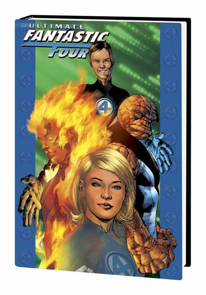 Image: Ultimate Fantastic Four Vol. 01 HC  - Marvel Comics
