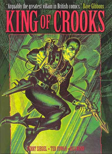 Image: King of Crooks featuring the Spider HC  - Titan Publishing