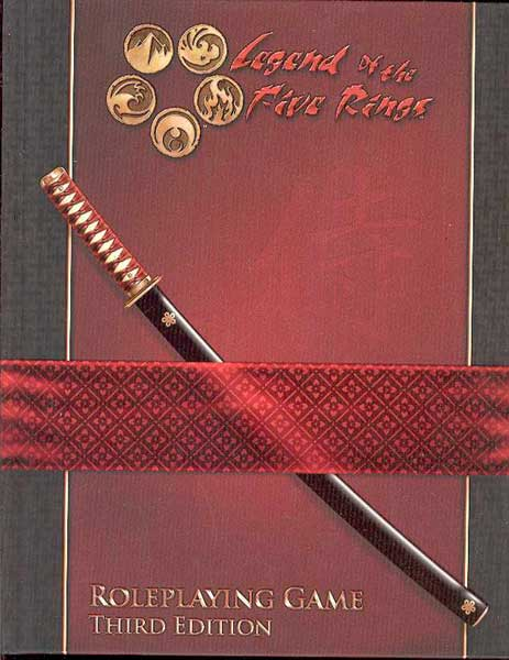 Image: Legend of the Five Rings RPG 3rd ed.  -