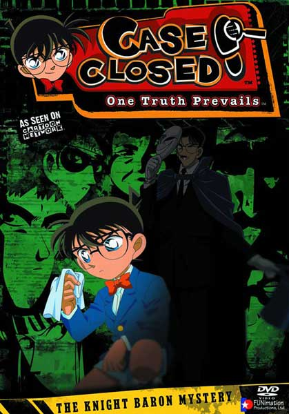Image: Case Closed Case 5 Vol. 2 DVD - Uncut  -
