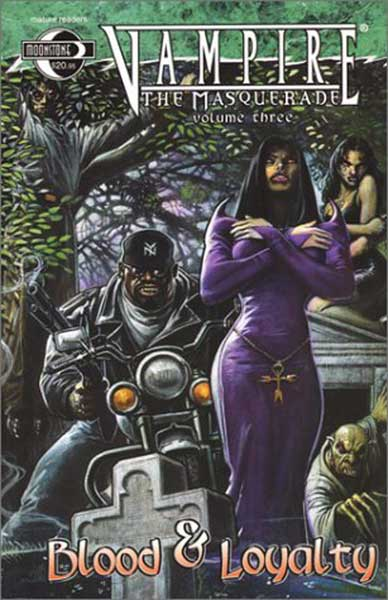 Image: Vampire the Masquerade Vol. 3: Five Undead SC  - Moonstone