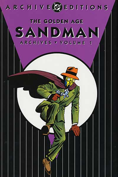 Image: Golden Age Sandman Archives Vol. 01 HC  - DC Comics