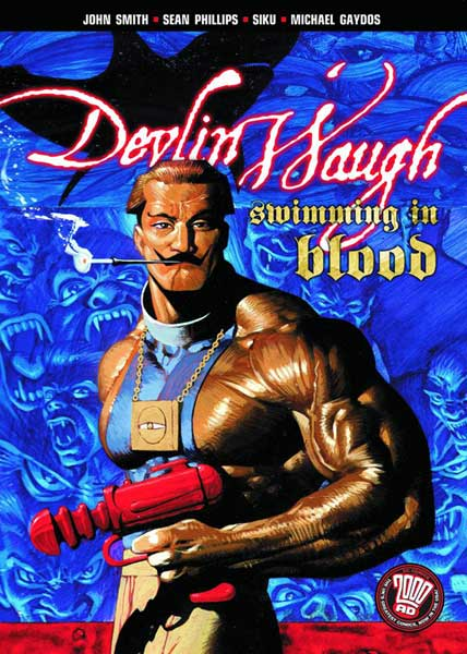 Image: Devlin Waugh: Swimming in Blood SC  - DC Comics