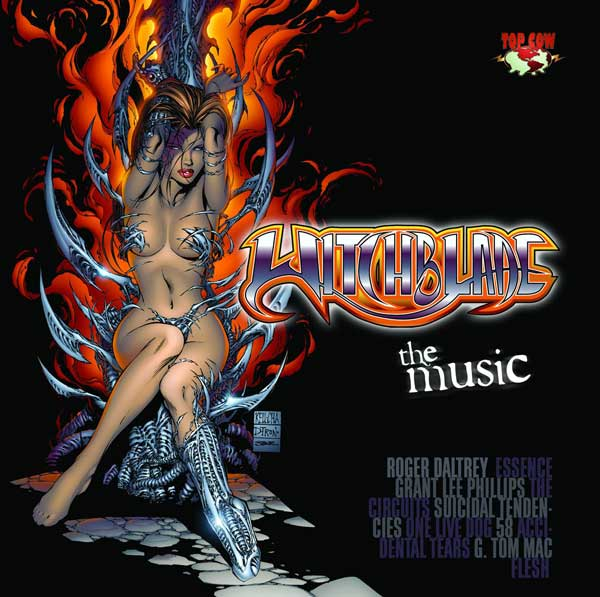 Image: Witchblade Music CD  -