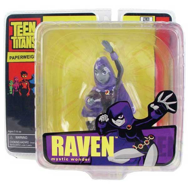 Image: Teen Titans Mini-Paperweight: Raven  -