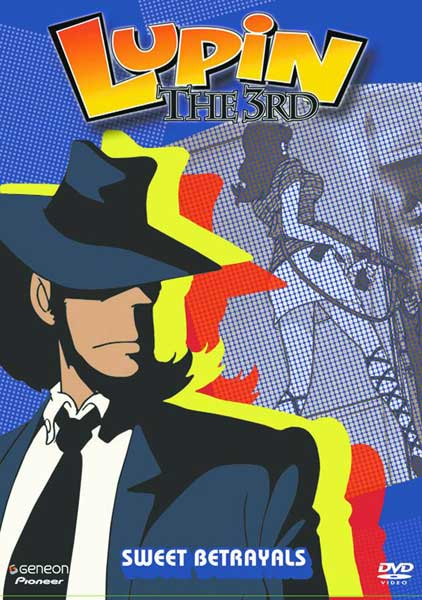 Image: Lupin the 3rd Vol. 8: Sweet Betrayals DVD  -