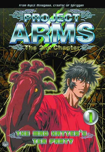 Image: Project Arms Second Chapter Vol. 2: The Time Has Come DVD  (Vol. 11 overall) -