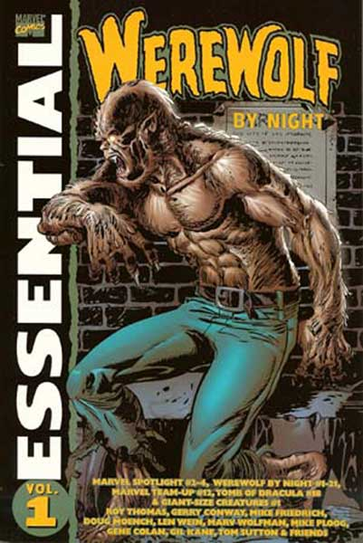 Image: Essential Werewolf by Night Vol. 01 SC  - Marvel Comics