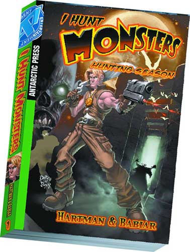 Image: I Hunt Monsters: Hunting Season Pocket Manga Vol. 1 SC  - Antarctic Press
