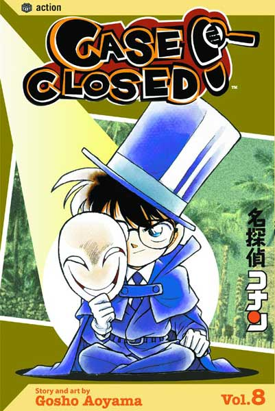 Image: Case Closed Vol. 8 SC  - Viz Media LLC
