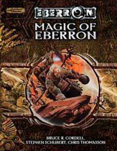 Image: Dungeons & Dragons Eberron: Magic of Eberron HC  -