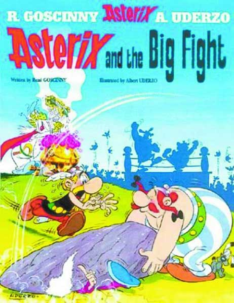 Image: Asterix Vol. 07: Asterix and the Big Fight SC  - Sterling Publishing