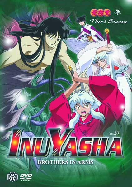 Image: Inuyasha Vol. 27: Brothers in Arms DVD  -