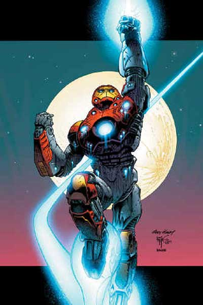Image: Ultimate Iron Man #1 Poster  - Marvel Comics