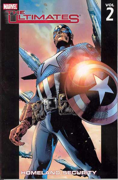 Image: Ultimates Vol. 02: Homeland Security SC  - Marvel Comics