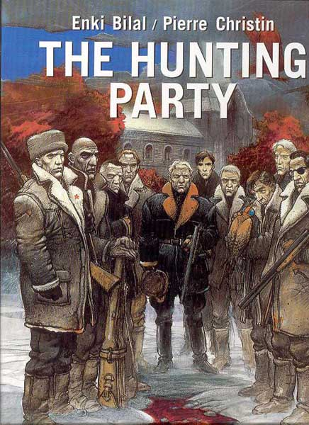 Image: Hunting Party HC  - DC Comics