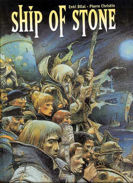 Image: Ship of Stone HC  - DC Comics