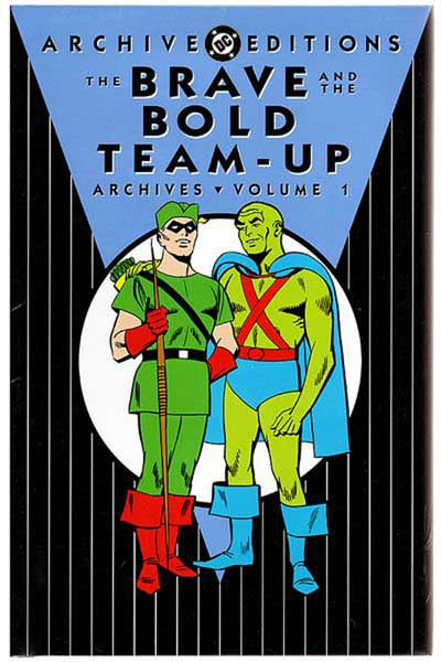 Image: Brave and the Bold Team-Up Archives Vol. 01 HC  - DC Comics