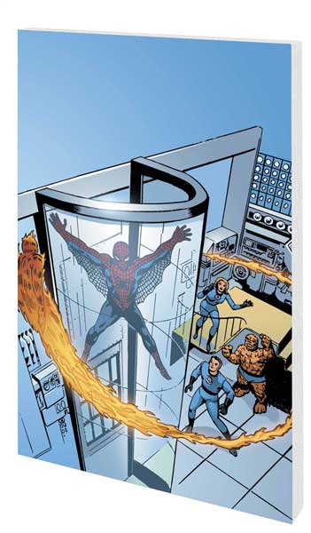 Image: Fantastic Four / Spider-Man Classic SC  - Marvel Comics