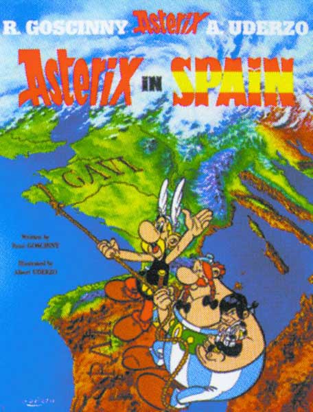 Image: Asterix #14: Asterix in Spain SC  - Sterling Publishing
