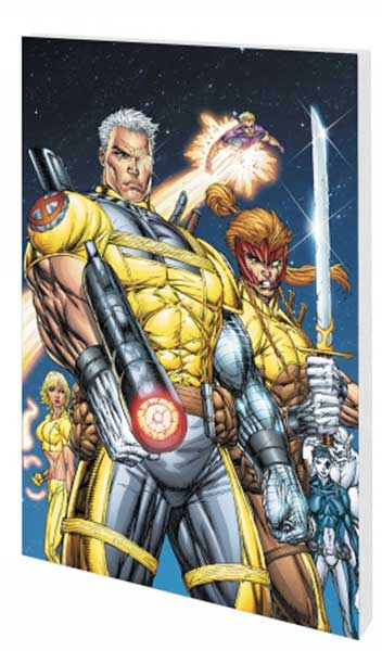 Image: X-Force & Cable Vol. 01: Legend Returns SC  - Marvel Comics