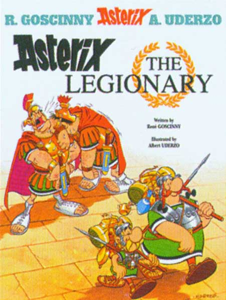 Image: Asterix Vol. 10: Asterix the Legionary SC  - Sterling Publishing