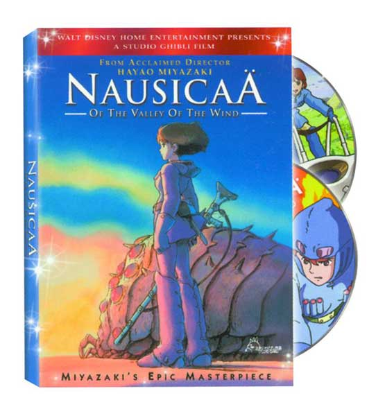 Image: Nausicaa of the Valley of the Wind DVD  -