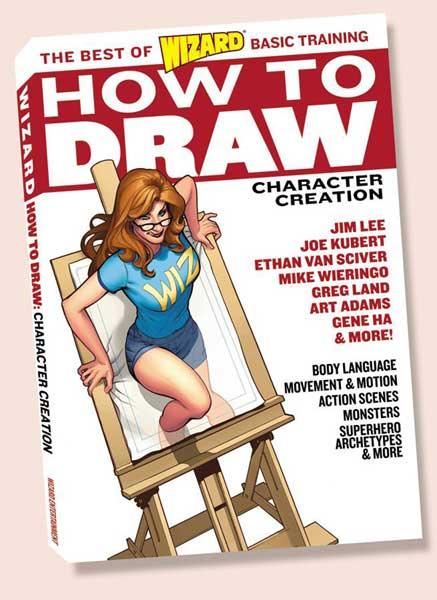 Image: Wizard How to Draw: Character Creation SC  -