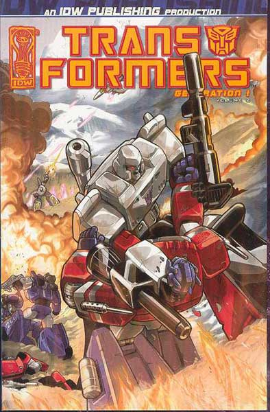 Image: Transformers Generation 1 Vol. 02 SC  - IDW Publishing