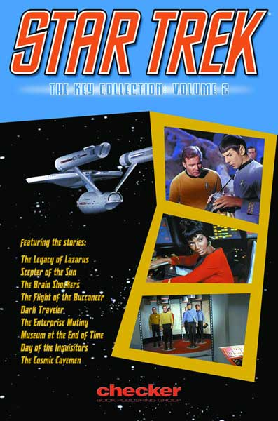 Image: Star Trek: Key Collection Vol. 02 SC  - Checker Book Publishing Group