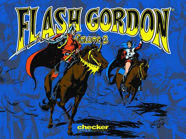 Image: Alex Raymond's Flash Gordon Vol. 02 HC  - Checker Book Publishing Group