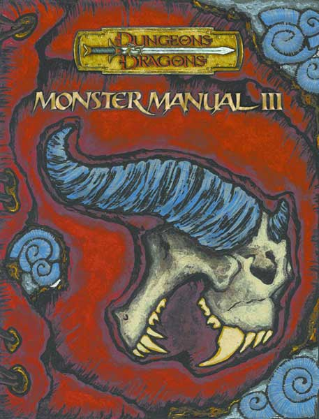 Image: Dungeons & Dragons Monster Manual III HC  -
