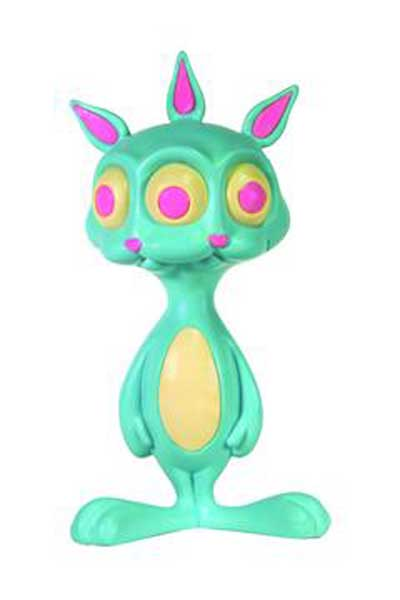 Image: Ron English's Rabbit Soft Vinyl Figure  -