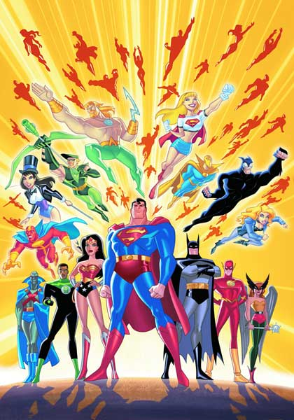 Image: Justice League Unlimited: Jam-Packed Action SC  - DC Comics