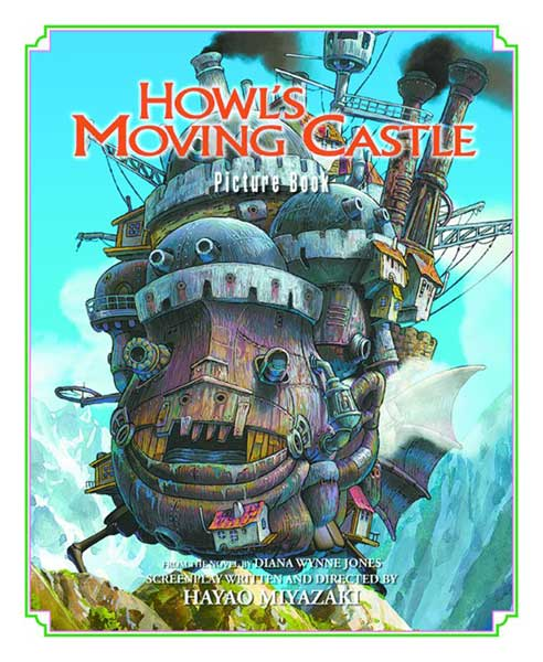 Image: Howl's Moving Castle Picture Book HC  - Viz Media LLC