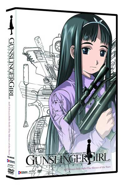 Image: Gunslinger Girl Vol. 3: Silence of the Stars DVD - Uncut  -