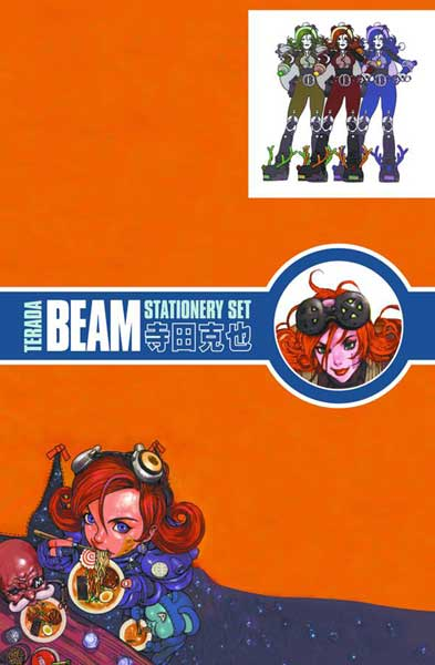 Image: Dark Horse Deluxe Stationery Set: Terada Cover Girls 2  - Dark Horse Comics