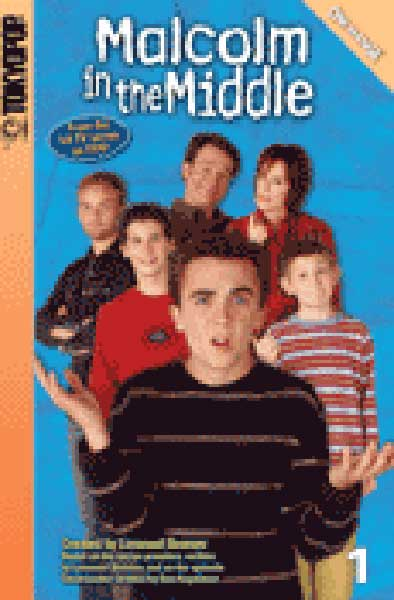 Image: Malcolm in the Middle Cine-Manga Vol. 1 SC  - Tokyopop Cine-Manga