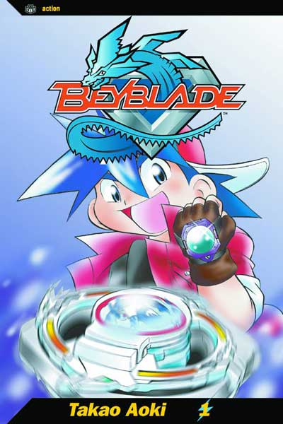 Image: Beyblade Vol. 01 SC  - Viz Media LLC