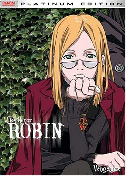 Image: Witch Hunter Robin Vol. 6: Vengeance DVD  -