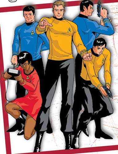 Image: Star Trek: The Manga SC  - Tokyopop