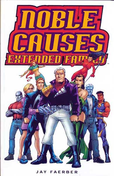 Image: Noble Causes: Extended Family #1 - Image Comics