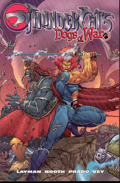 Image: Thundercats: Dogs of War SC  - DC Comics