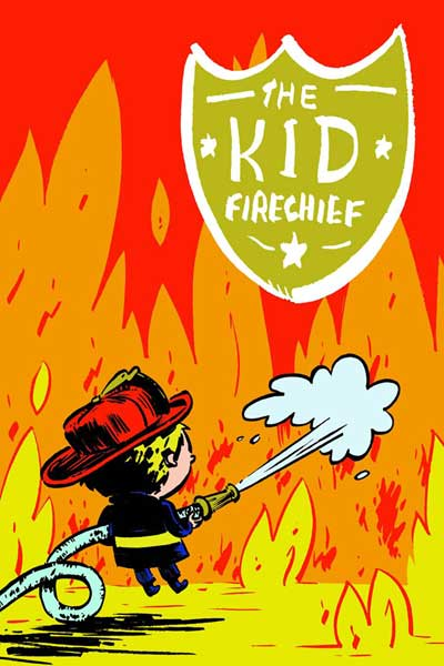 Image: Kid Firechief SC  - Fantagraphics Books
