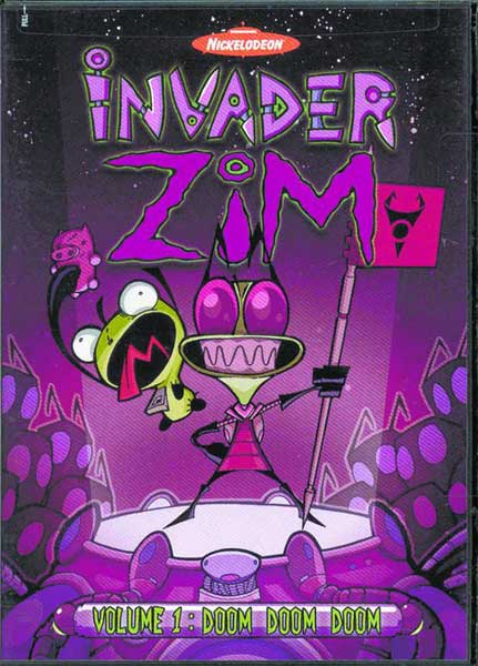 Image: Invader Zim Vol. 01: Doom, Doom, Doom! DVD  -