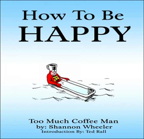 Image: Too Much Coffee Man: How to be Happy SC  - Dark Horse Comics