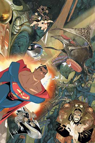 Image: Superman: Infinite City HC  - DC Comics